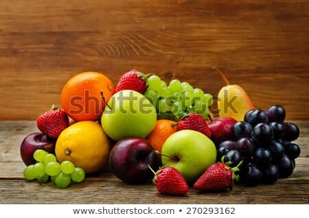 orgânico · verde · bananas · fruto · banana · fresco - foto stock © dmitroza