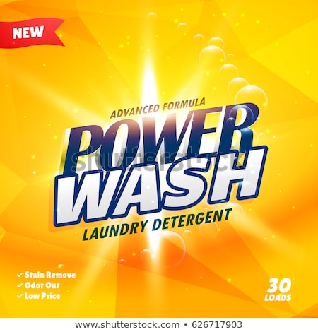 creative detergent packaging product design template Stock photo © SArts