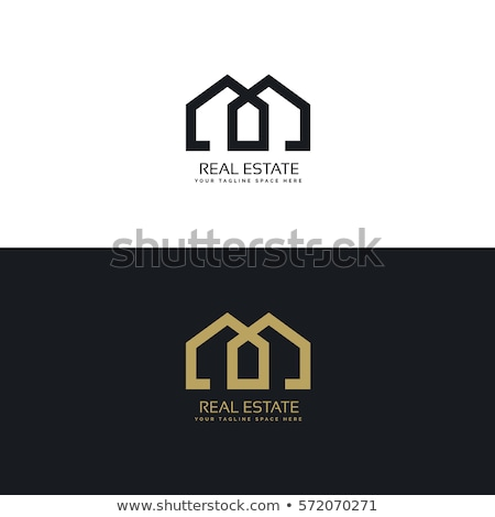 clean house logo for real estate company Stock photo © SArts