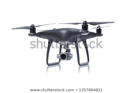 Stúdió fotó repülőgép fehér telefon fény Stock fotó © manaemedia
