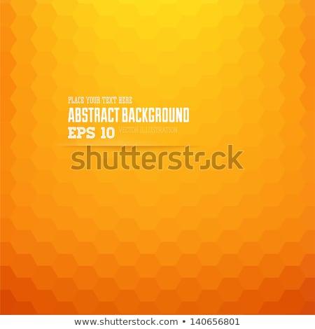 Vecteur orange couleur Splash style rétro design Photo stock © fresh_5265954