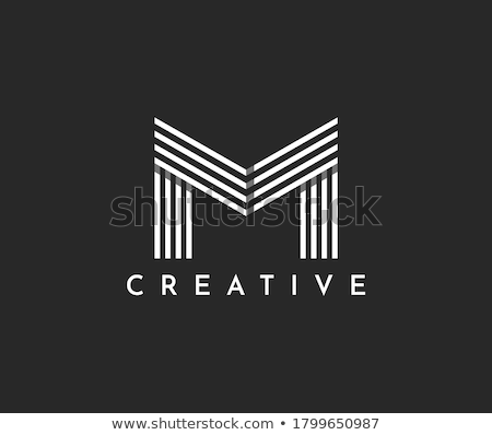letter M abstract logo concept design Stock photo © SArts