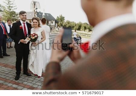 新郎 · ベスト · 男 · 結婚式 · 愛 · 幸せ - ストックフォト © wavebreak_media