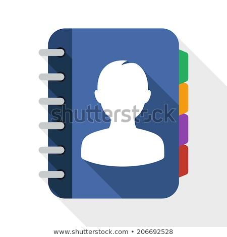 Contacts - Folder Name in Directory. Stock photo © tashatuvango