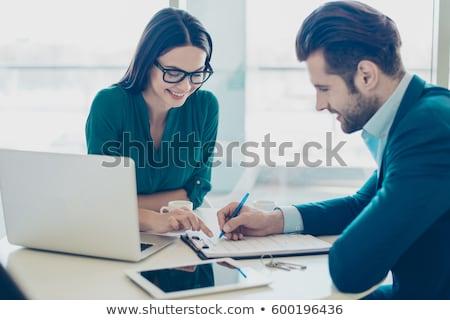 コンサルティング キー 現代 ノートパソコンのキーボード ストックフォト © tashatuvango