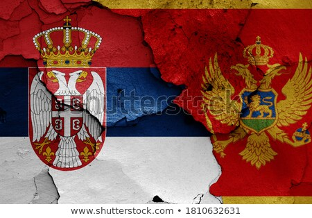 Flag of Serbia and Montenegro Stock photo © gravityimaging