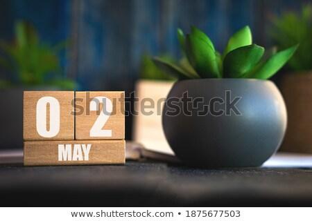 Cubes 2nd May Stock photo © Oakozhan
