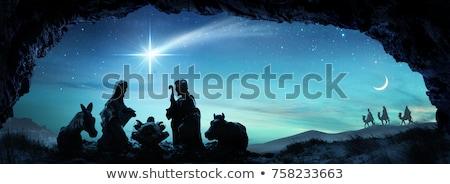 Stok fotoğraf: İncil · sahne · örnek · Noel · Mesih · İsa