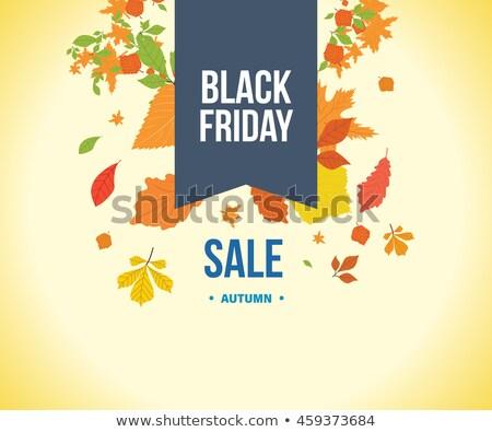 verkoop · promo · zwarte · ballon · vector - stockfoto © robuart