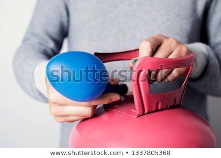 шаре гелий цилиндр синий розовый Сток-фото © nito