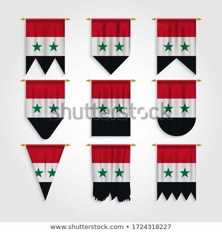 wereld · vlaggen · iconen · collectie · abstract · vector - stockfoto © pikepicture