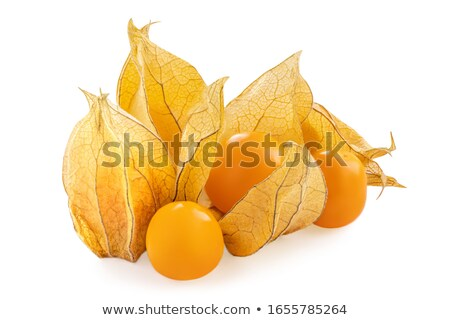 taze · yalıtılmış · beyaz · gıda · meyve · sarı - stok fotoğraf © grafvision