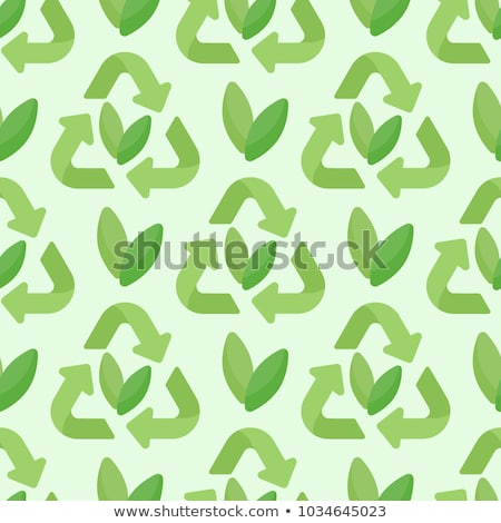 Pollution of Nature Vector Seamless Pattern Stock photo © pikepicture