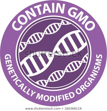 Genetically modified foods concept vector illustration Stock photo © RAStudio