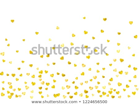 Golden heart Stock photo © montego