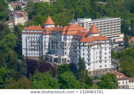 Building of hotel, Karlovy Vary Stock photo © borisb17