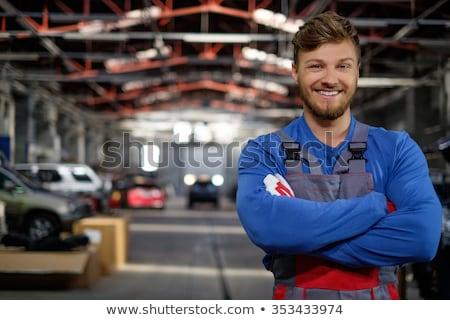 ガレージ コラージュ 手 木材 ホーム 作業 ストックフォト © nomadsoul1