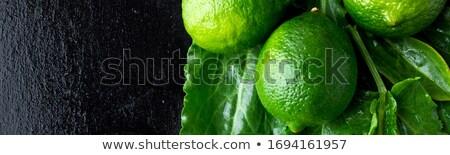 Bandeira molhado espinafre preto verde fruto Foto stock © Illia