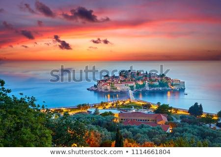 ストックフォト: 島 · 半島 · モンテネグロ
