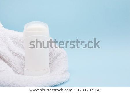 Dezodor bot izolált fehér test csoport Stock fotó © kitch