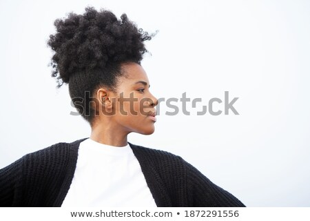 young fitness woman with arms in her neck stock photo © Rob_Stark