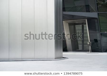 acier · verre · architecture · détail · métal · bâtiment · moderne - photo stock © tuulijumala