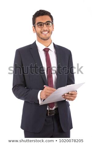 człowiek · biznesu · schowek · zdjęcie · działalności - zdjęcia stock © feedough