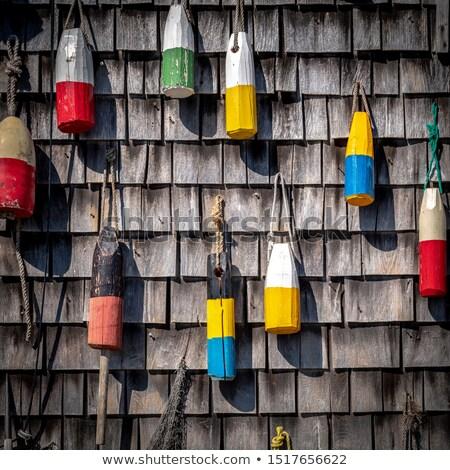 muur · houten · gebouw · abstract · frame · behang - stockfoto © haraldmuc