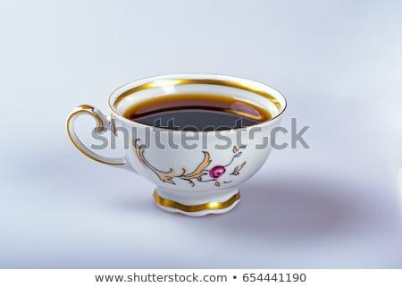 holandés · taza · café · aislado · blanco - foto stock © ivonnewierink