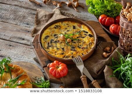marul · sebze · gıda · salata · domates - stok fotoğraf © joker