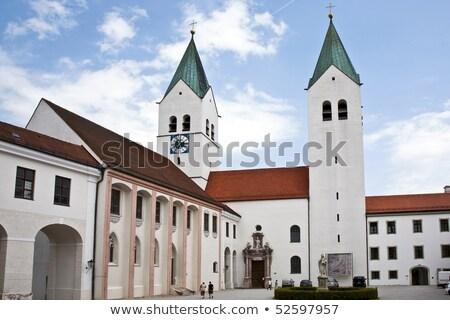 有名な ドーム 空 教会 青 建物 ストックフォト © meinzahn