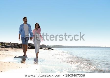 Vacaciones dos hermosa pie Foto stock © Steevy84