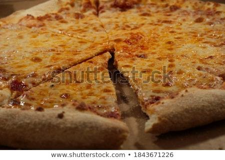 チーズ · スライス · まな板 · 白 · 食品 · 食べ - ストックフォト © zhekos