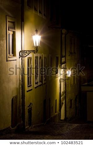 Square of St. Trinity at night, Banska Stiavnica, Slovakia Stock photo © phbcz