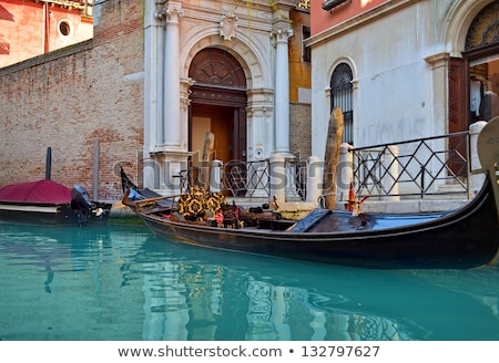 Canale Venezia nebbia Italia città viaggio Foto d'archivio © adrenalina