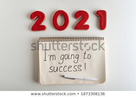 I am going to succeed. Stock photo © maxmitzu