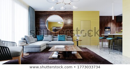 Wooden Feature Wall Stock photo © kitch