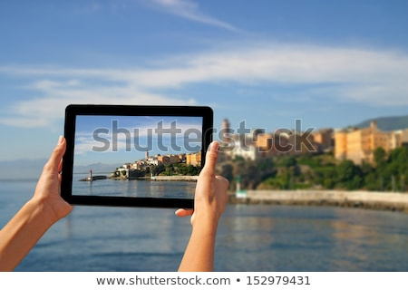 taking pictures with a tablet stock photo © smuki