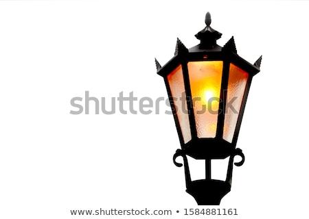 Old street lamp Stock photo © GeniusKp