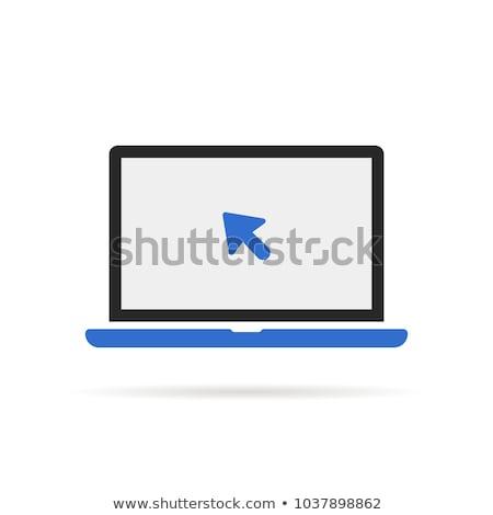 青 · 実例 · 透明 · eps10 · コンピュータ - ストックフォト © loopall