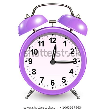 Tick Violet Vector Icon Design Stock photo © rizwanali3d