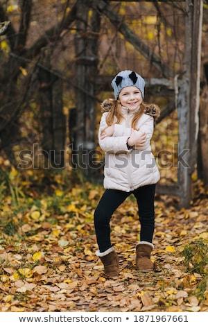 детей глядя ребенка двери мальчика Сток-фото © DedMorozz