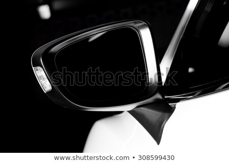 Modern luxury car wing mirror close-up Stock photo © photocreo