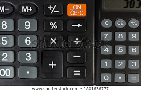 Buttons with the different mathematical operations Stock photo © bluering