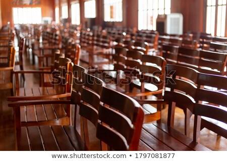 színház · szék · terv · koncert · konferencia · szövet - stock fotó © luissantos84
