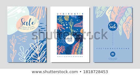 Doodle design of a sales report Stock photo © bluering