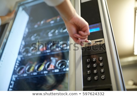 торговый автомат монеты банкнота текстуры банка цвета Сток-фото © vichie81