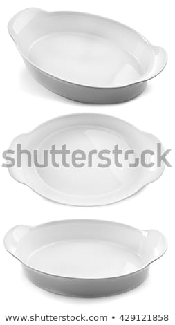 Oval White Ceramic Baking Dish Stock photo © Digifoodstock