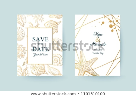 結婚式 実例 愛 自然 海 カップル ストックフォト © adrenalina
