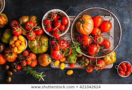 assorted variety of tomatoes Stock photo © M-studio